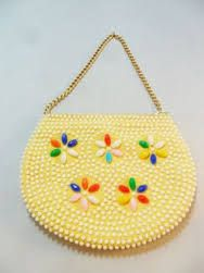 Image result for beaded purse 70's