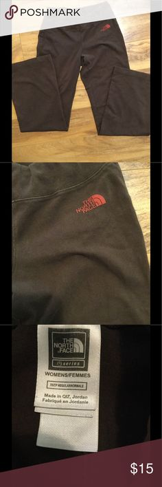 The North Face lounge pants XS The North Face lounge pants, brown, stretchy, XS The North Face Pants Track Pants & Joggers