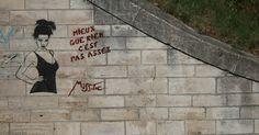 #MissTic Street Art Arles  Avenue de la Camrgue - Tinqutaille