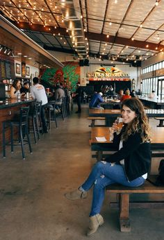 Austin Texas: 14 must-visit breweries - Texas Travel Destinations Honeymoon Backpack Backpacking Vacation Best Places To Travel, The Places Youll Go, Cool Places To Visit, Places To Go, Visit Austin, Austin Tx, Farmhouse Brewery, Brewery Design, American Beer