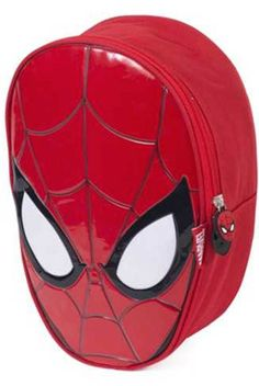 Marvel Spider-man Head School Bag Backpack Children s Rucksack School & Nursery