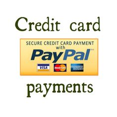 All major credit cards are accepted.