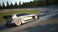 フォルクスワーゲン GTIスーパースポーツ ビジョンGTの全貌が明らかに
