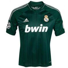 929220cbbf Real Madrid Verde 2012 13 Camiseta fútbol  698  - €16.87   Camisetas