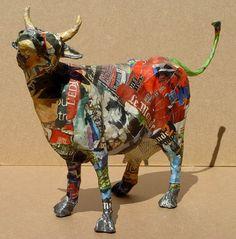 My Owl Barn: Paper Mache Sculptures by Aude Goalec & Nicole Jacobs