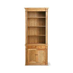 Estante english bookcase em carvalho americano - 0,95x2,20x0,36m (lxaxp)