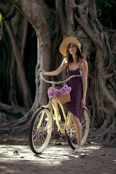 Biking outfit for the beach
