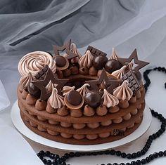 Number Birthday Cakes, Number Cakes, Fondant Cakes, Cupcake Cakes, Chocolate Cake Designs, Bolo Cake, Dream Cake, Cake Decorating Tips, Drip Cakes