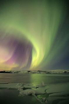 ~~Kleifarvatn - northern lights, aurora borealis, Iceland by olgeir~~