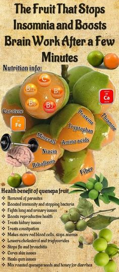 THE FRUIT THAT STOPS INSOMNIA AND BOOSTS BRAIN WORK AFTER A FEW MINUTES !!! #NaturalInsomniaCures