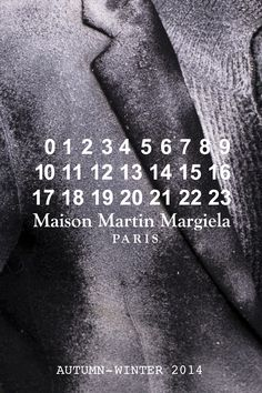 maisonmartinmargiela:    Pictures of the Maison Martin Margiela Autumn-Winter 2014 Menswear collection are on Facebook. Check them out.