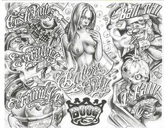 Free+Tattoo+Flash+Pattern | Pictures Chicano Tattoo Flash Gangsta Tattoos Prison Mexican