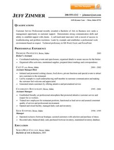 objective statement for customer service resume