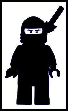 cute ninja silhouette - Google Search