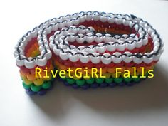 Rainbow Kandi Belt
