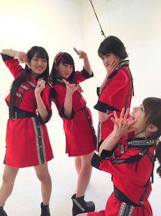 Haruna Iikubo, Akane Haga, Haruka Kudo & Ayumi Ishida