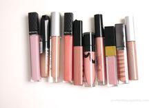 Nude Attitude - favorite nude tinged lip glosses