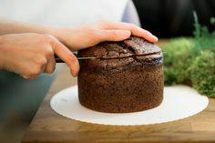 Tortenboden schneiden 1   Foto: Zuzu Birkhof