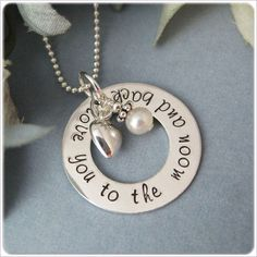 Love you to the Moon & Back....I need to get this for Hannah