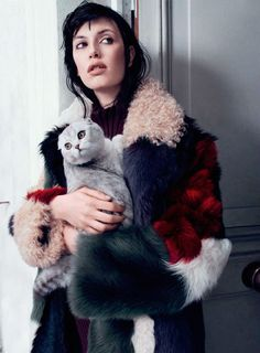 Who's Here: Sabrina Ioffreda for Vogue Russia October 2014 by Catherine Servel