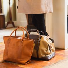 the perfect tan leather tote J Crew Outfits, Monogram Gifts, Cloth Bags, Nantucket, Retail Therapy, Travel Bag, Tan Leather, Purses And Handbags, Shoe Boots