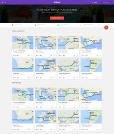 To Route - Free Material Design Travel