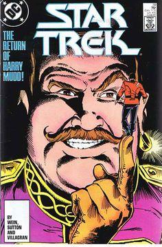 "Comic Book Vintage DC STAR TREK ""Return of Harry Mudd"" #39 June 1987,  C46 A2"