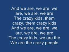 ▶ Ke$ha - Crazy Kids (Clean With On-Screen Lyrics) - YouTube