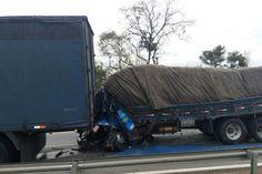Caminhoneiro morre após não conseguir parar veículo em um protesto do MST em Itatiaiuçu MG