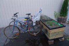 backyard bike rack - Google Search