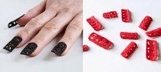 crochet faux nails