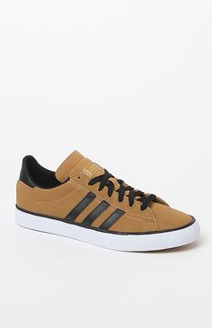 uk availability 9e254 965f1 Campus Vulc II Brown  Black Shoes