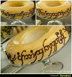 Lord of the Rings cake, Drew would love this!