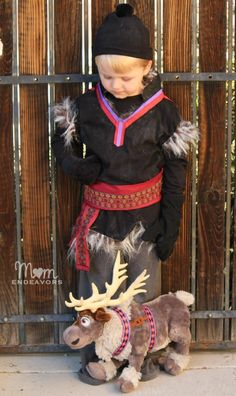 Easy DIY Disney FROZEN Kristoff Costume