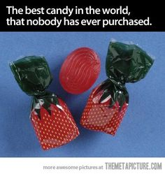 Childhood Nostalgia...i used to put these in the fruit baskets at our florist shop!