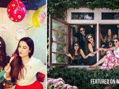 Be it a fancy bachelorette trip to Greece or just another casual night with your tribe, these celebrity bridesmaids have definitely given us some crazy Indian Bachelorette ideas. Indian Wedding Songs, Indian Weddings, New Henna Designs, Friendship Day Special, Indian Bridesmaids, Team Bride, Wedding Story, Wedding Moments, Love And Marriage