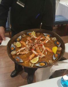 Seafood paella - St. James - Madrid, lunedì 25 gennaio