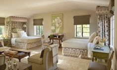 Mediterranean Bedroom in Los Angeles, CA by Suzanne Rheinstein & Associates