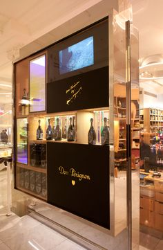 Point-of-Sale Displays, made by Berry Place on behalf of Chic Agency. As seen in Selfridges