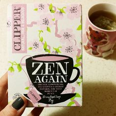 Clipper Teas Zen Again infusion, relax!