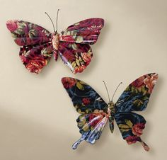 Butterfly Wall Decor $19.99
