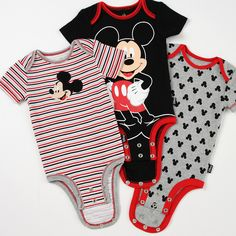 The Disney Cuddly Bodysuit™ with Grow-An-Inch-Snaps™, made with Disney Huggable Soft 100% Cotton™, is a perfectly sized bodysuit that will be sure to cuddle your baby like no other.