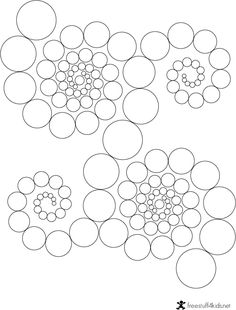 Free mandalas coloring > Open Mandala Design 2 페이지
