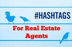 Guide to hashtags for Real Estate Agents! What is a hashtag? Why use a hashtag? & resources for researching popular hashtags! #realestate #realestateagents #hashtags #socialmedia