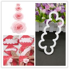 The SMALLEST Easiest Rose Ever Cutters Beauty Model Easiest Rose Ever Cake Decor #FMMSugarcraftProductsLtd