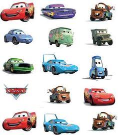 Cars p banderines
