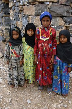 bambini del villaggio contadino di Assudi