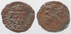 1621 Braunschweig-Wolfenbüttel BRUNSWICK-WOLFENBUTTEL 2 Pfennig 1621 FRIEDRICH ULRICH copper aXF RARE! # 88312 aEF