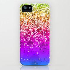 Glitteresques X iPhone & iPod Case by Rain Carnival