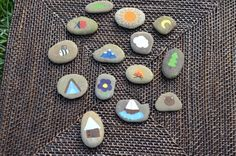 Story Stones  The Great Outdoors by JessicaHippDesigns on Etsy, $25.00